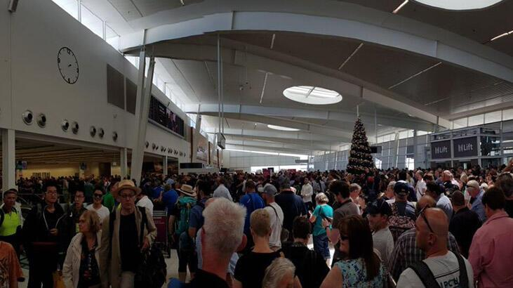 Son dakika... Avustralya'daki Adelaide Havaalanı boşaltıldı!