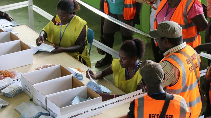 Papua Yeni Gine'den bağımsızlık için oy verdiler