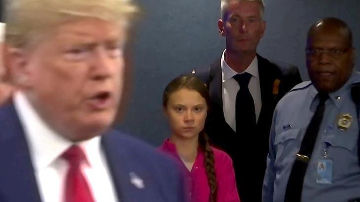 Trump'tan Greta Thunberg açıklaması: Öfke kontrolü sorunuyla başa çıkmalı