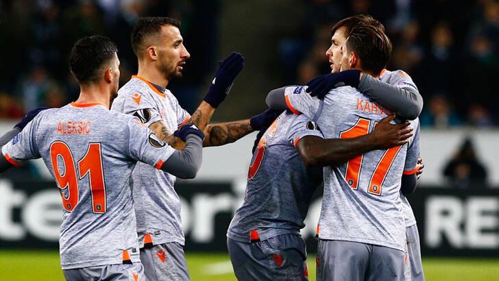 Mönchengladbach - Medipol Başakşehir: 1-2