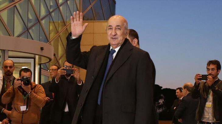 Son dakika... Cezayir'in yeni cumhurbaşkanı belli oldu