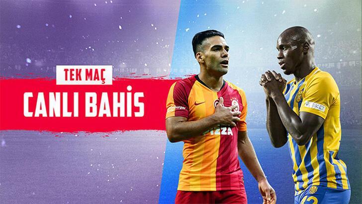 Galatasaray-Ankaragücü maçı canlı bahisle Misli.com'da