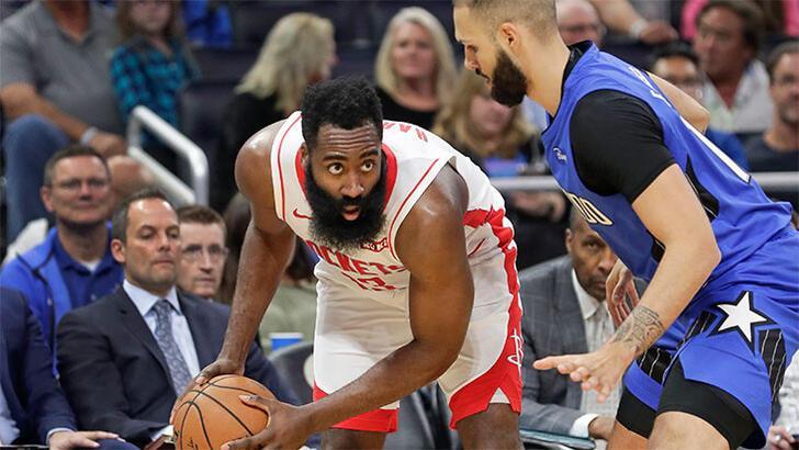 Harden yıldızlaştı, Rockets rahat kazandı: 107-130