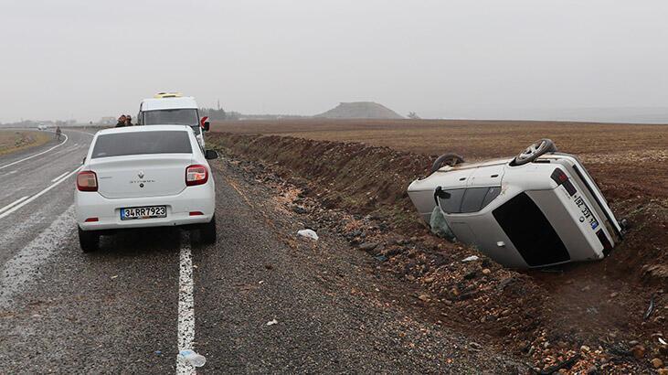 Diyarbakır'da trafik kazası: 4'ü çocuk 8 yaralı
