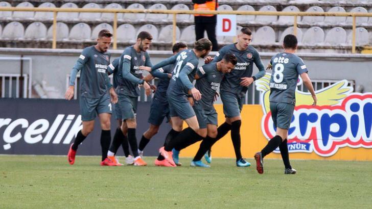 Boluspor-Fatih Karagümrük: 0-2