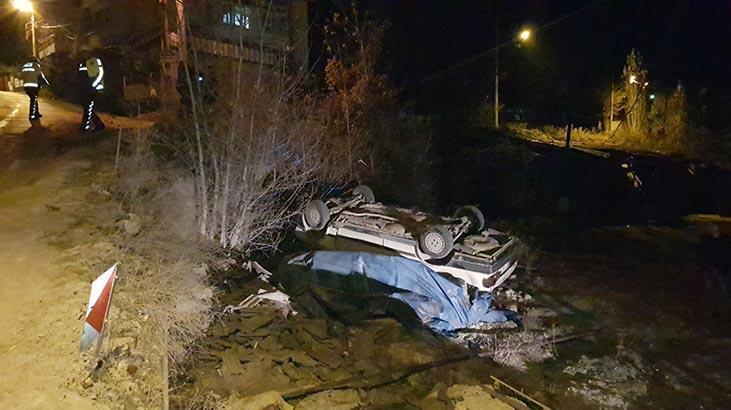 Ayakta duramayan alkollü sürücü: Araçta başka biri vardı