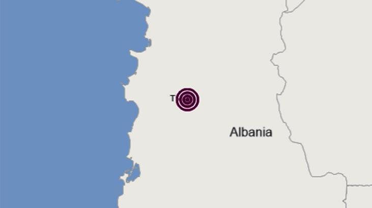 Son dakika | Arnavutluk'ta korkutan deprem
