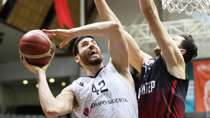 Beşiktaş Sompo Sigorta: 78 - Gaziantep Basketbol: 73