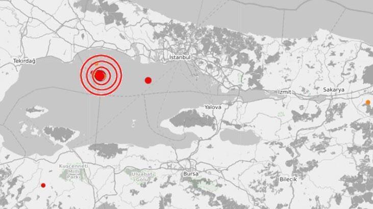 Deprem mi oldu? Son dakika deprem listesi 15 Aralık Kandilli Rasathanesi