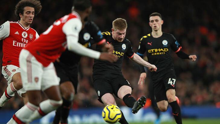 Manchester City, Arsenal'ı dağıttı!