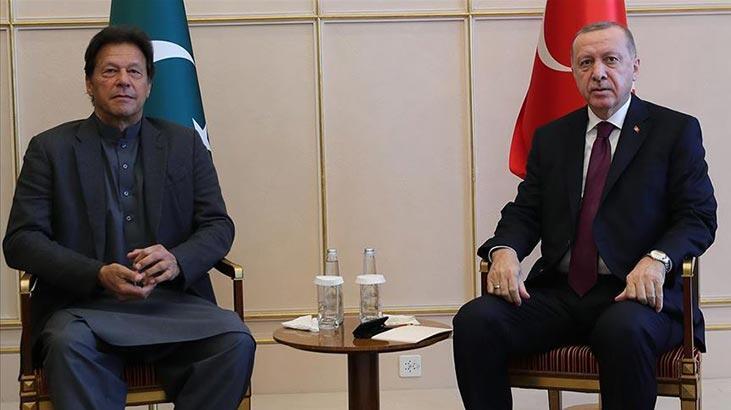 """Pakistan Başbakanı Han'dan Erdoğan ve Türk halkına """"mülteci  övgüsü"""""""