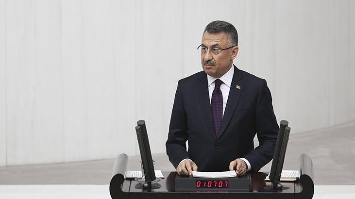 Son dakika | Cumhurbaşkanı Yardımcısı Oktay: Uluslararası arenada hesap vermez, hesap sorarız