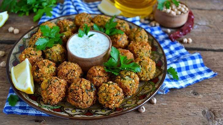 Doyurucu bir Lübnan lezzeti: Falafel