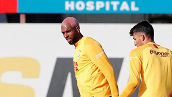 Galatasaray'da Babel takımla çalıştı