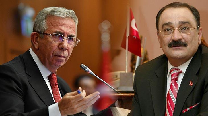 Sinan Aygün'den Mansur Yavaş'a suç duyurusu!