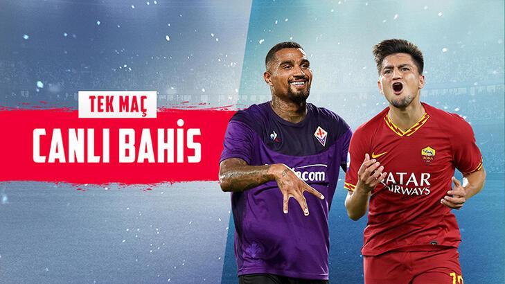 Fiorentına – Roma maçı canlı bahisle Misli.com'da!
