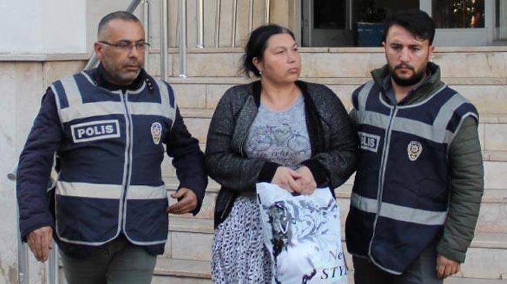 Sahte doğum raporu ile tahliye olan kadın yakalandı!