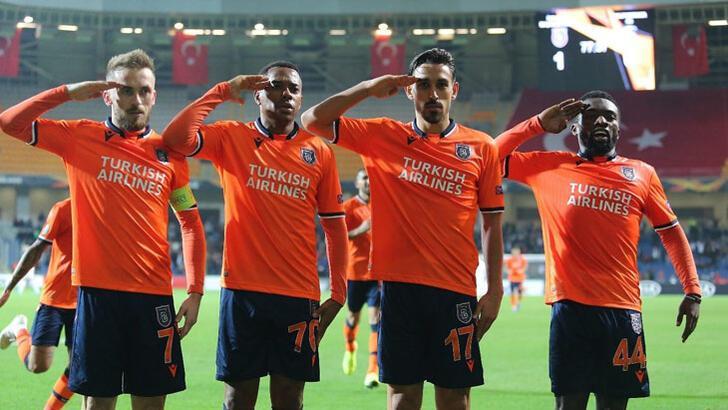 UEFA'dan Başakşehir'e kınama cezası
