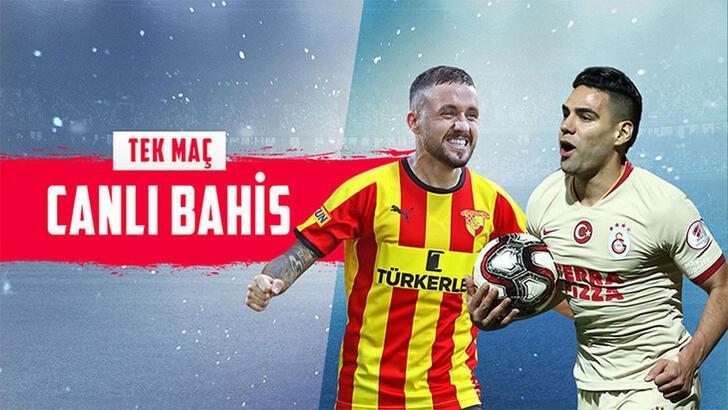 Göztepe-Galatasaray maçı canlı bahisle Misli.com'da