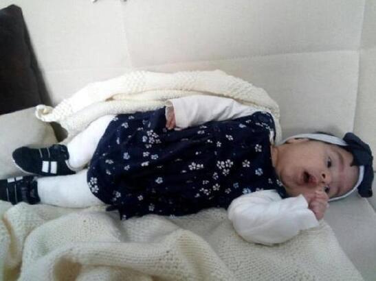Solunum yetmezliği olan Su bebek, yaşama tutunamadı