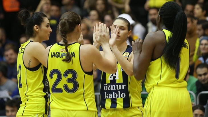 Çankaya Üniversitesi: 59 - Fenerbahçe Öznur Kablo: 75