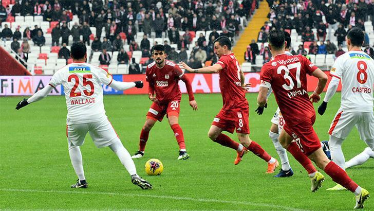 Demir Grup Sivasspor - Göztepe: 1-0