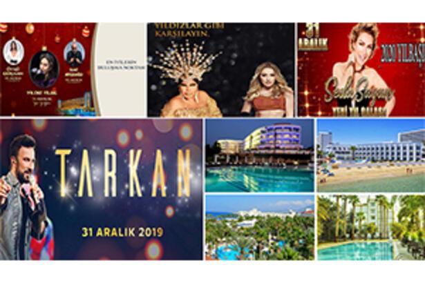 Ünlü sanatçılar eşliğinde Kıbrıs'ta Yılbaşı tatiline davetlisiniz