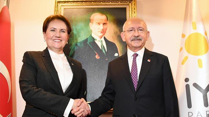 Kılıçdaroğlu, Akşener ile Libya Tezkeresi'ni konuştu