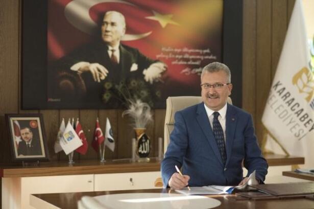 Karacabey Belediye Başkanı Ali Özkan'dan yeni yıl mesajı