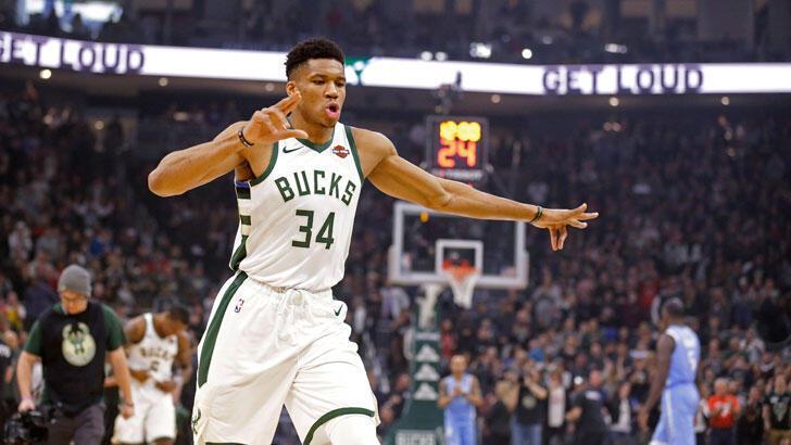 NBA'de Bucks, Timberwolves'u yenerek üst üste 4. galibiyetini aldı