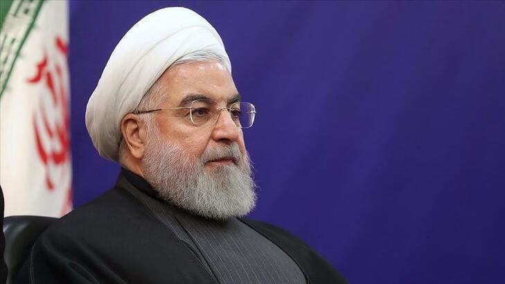 """Ruhani: """"İran ve bölgenin özgür ulusları, bu korkunç suçun intikamını alacaktır"""""""
