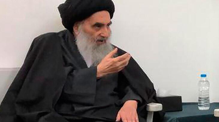 """Irak'taki Şii dini merci Sistani: """"Saldırı Irak'ın egemenliğinin ihlalidir"""""""