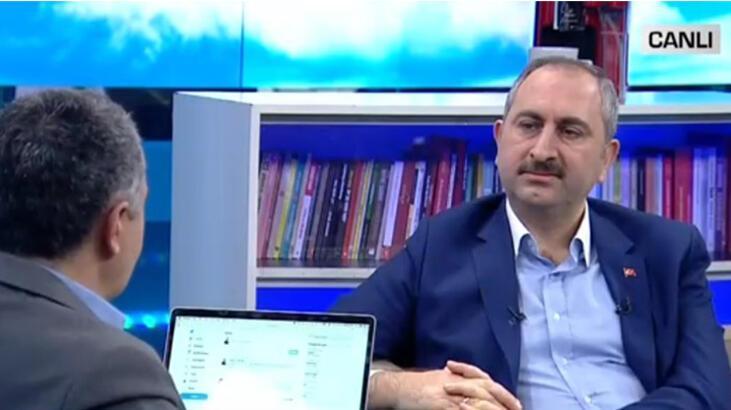Son dakika... Adalet Bakanı Gül'den canlı yayında önemli açıklamalar