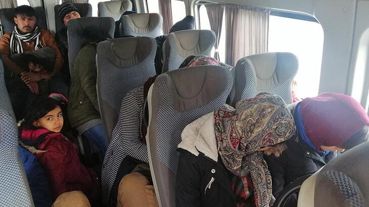 Çanakkale'de 108 göçmen yakalandı!