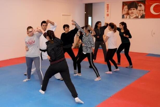 Kadınlara yakın savunma eğitimi