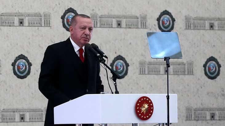 Son dakika... MİT'in yeni binası 'Kale' açıldı! Cumhurbaşkanı Erdoğan'dan önemli açıklamalar