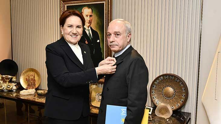 Emekli Albay Sarızeybek, İYİ Parti'ye katıldı