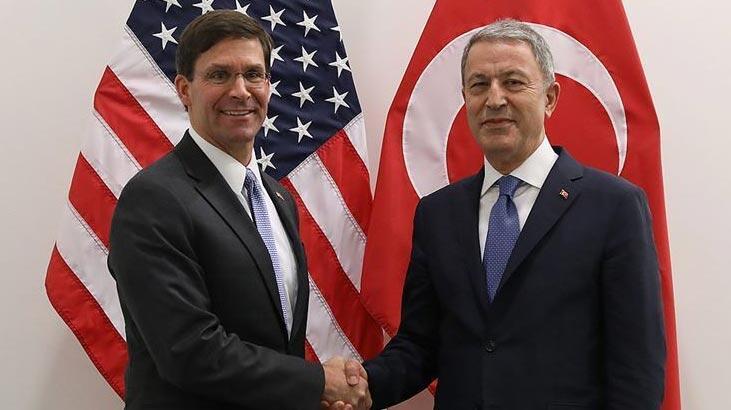 Son dakika   Milli Savunma Bakanı Akar ile ABD'li mevkidaşı Esper telefonda görüştü