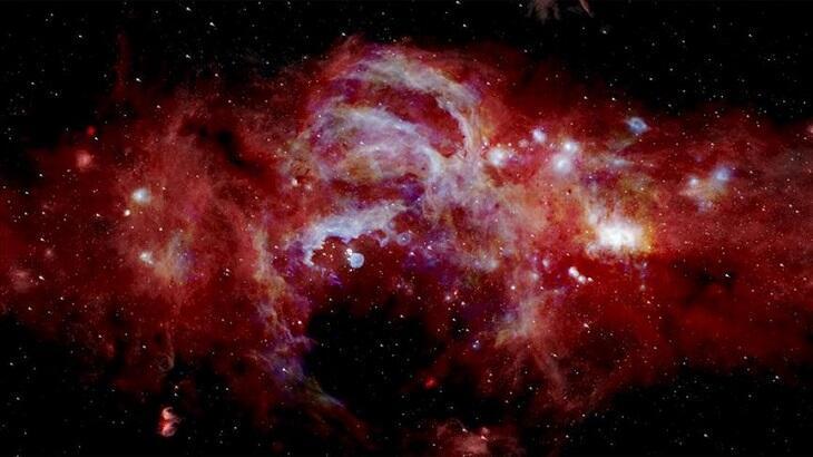 Samanyolu Galaksisi'nin merkezi görüntülendi!