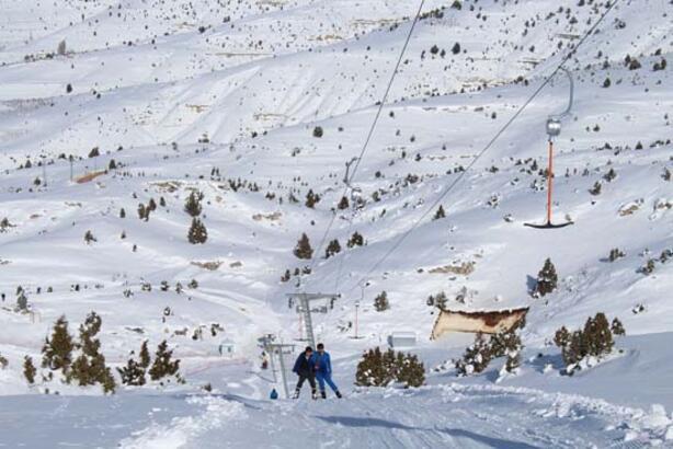 Pekmezli karla sezon açılışı