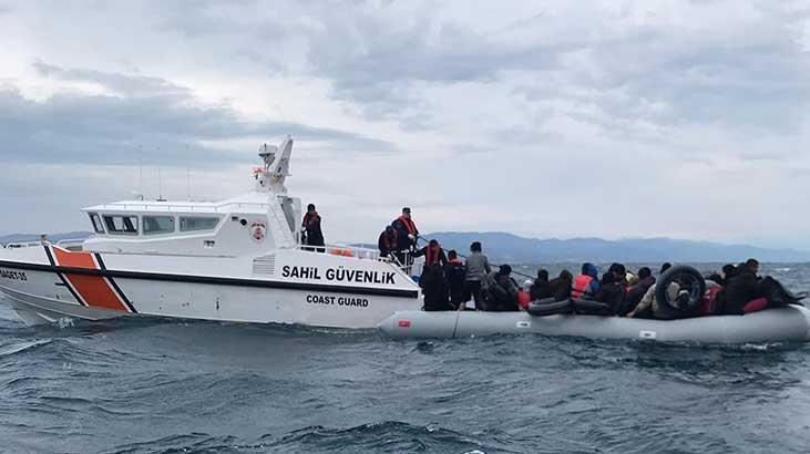 Çanakkale'de 92'si çocuk, 193 kaçak göçmen yakalandı