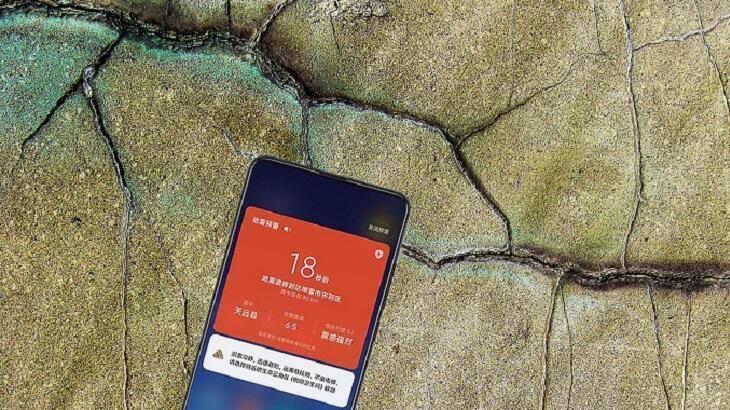 Çinliler depremi önceden haber veren telefon yaptı!