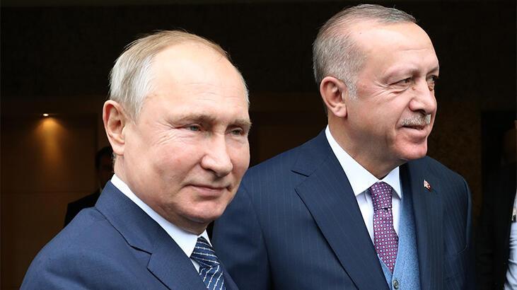 Cumhurbaşkanı Erdoğan'dan Putin'e dikkat çeken hediye