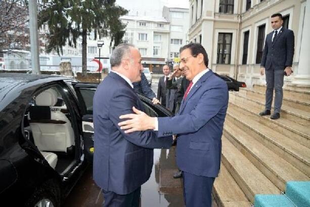 MGK Genel Sekreteri, Bolu Valiliği'ni ziyaret etti