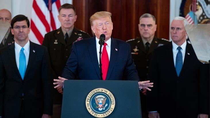 ABD Başkanı Trump: İran şu aşamada durulmuş görünüyor