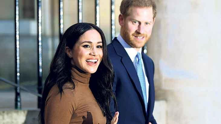 Kraliyette sular durulmuyor: Meghan terk etti Harry de gidecek