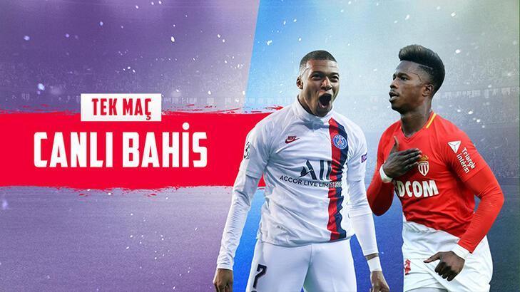 Fransa'da dev mücadele! PSG - Monaco mücadelesi Misli.com'da...