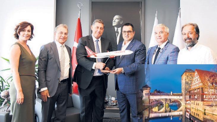 İzmir-Nürnberg uçuşu başladı