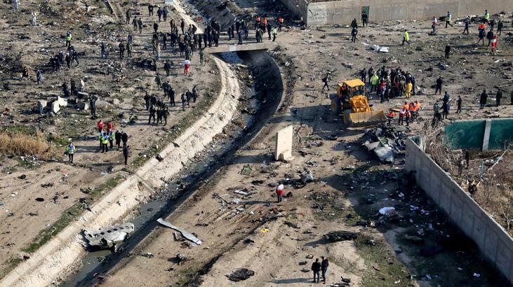 Son dakika... İran'da düşürülen yolcu uçağında ilk gözaltılar