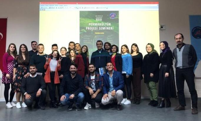 Fakültede 'Permakültür' semineri
